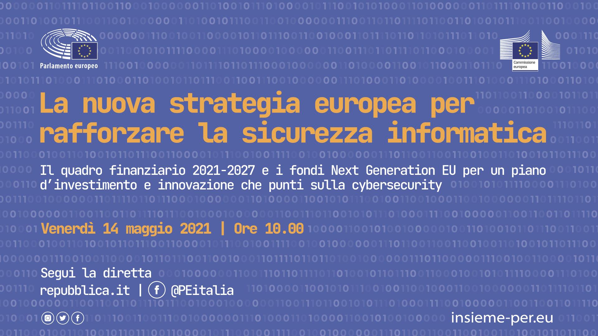 """La nuova strategia europea per rafforzare la sicurezza informatica"""""""